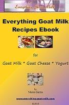 Everything Goat Milk Recipes Ebook