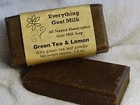Green Tea Goat Milk Soap