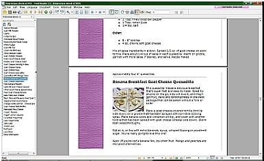 Goat Milk Recipe Ebook Page