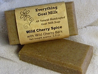 Wild Cherry Spice Goat Milk Soap