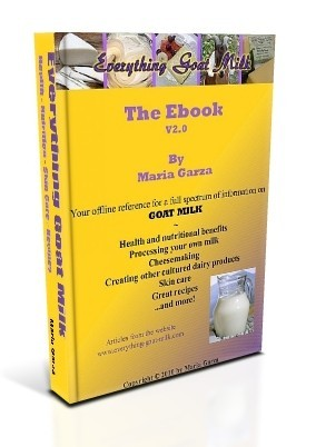 Everything Goat Milk Ebook cover