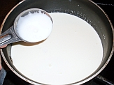 Making sour cream with buttermilk