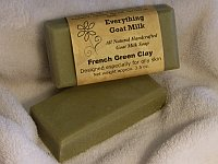 French Green Clay Goat Milk Soap