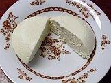 Mozzarella cheese halves