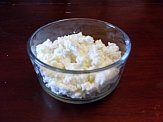 Ricotta Cheese in a Bowl